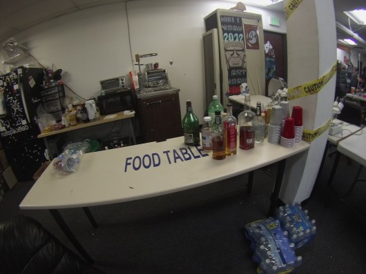 """Food"" Table"