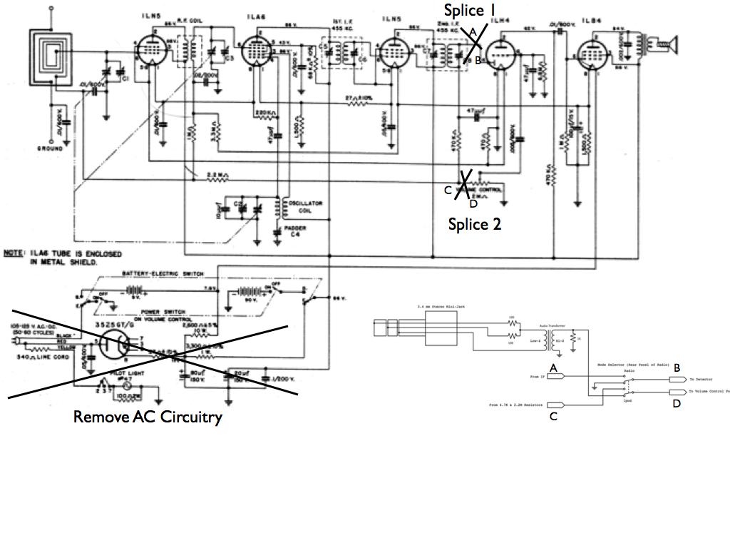 10 558 Transistor Radio Schematics