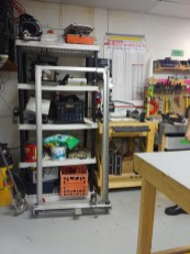 Donated frame for the new laser cutter.