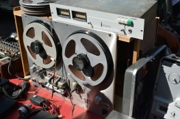 This wasn't the only reel-to-reel I saw