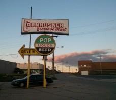 Liquor store-adjacent!