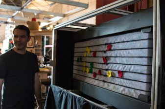 A musical treadmill, uses OpenCV to track the dots