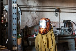 Fashionable welding masks?
