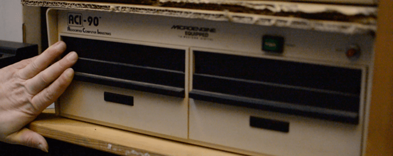 ACI-90, a machine that executes Pascal P-code *directly*, without an interpreter