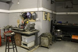 Metalworking and welding area