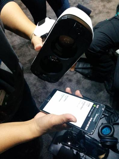 Oculus Gear VX uses a Galaxy Note 4 as the display