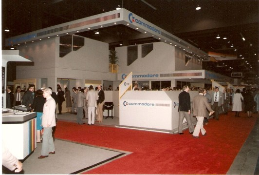 1985 Commodore CES Booth