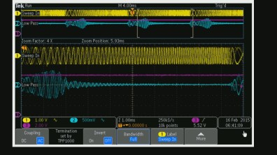 Low Pass Filter Sweep - Left to Right