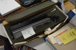 A bizarre digitizer for a trash 80. Used for CAD, drafting, etc