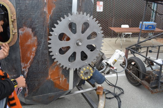 Gear and Sprocket Assembly