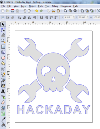 Hackaday Hackerspace Passport Stamp