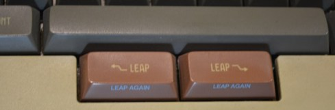 Leap keys for the Canon Cat