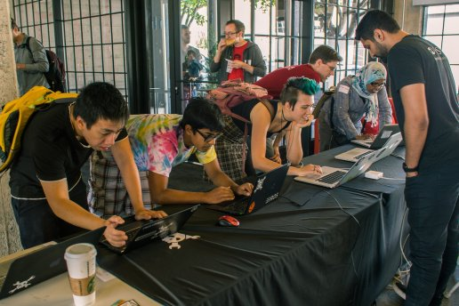 Checking at Hackaday Prize Worldwide-SF