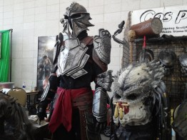 Some of the well-detailed costumes on display.