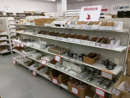 assorted DC and stepper motors