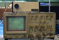 The Cyclops and oscilloscope