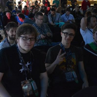 Familiar faces from Hack Chat: Dave Darko, Michele Perla