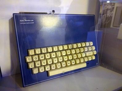 Galaksija computer designed by Voja Antonic