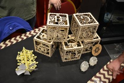 Intricate laser cut box designs