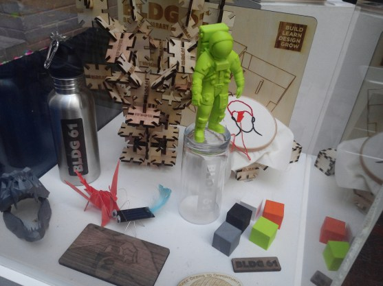 Creations that came out of BLDG 61, the Boulder Library makerspace
