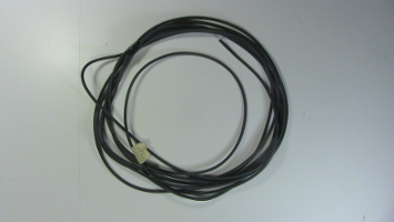 Coil of thickly rubber insulated wire