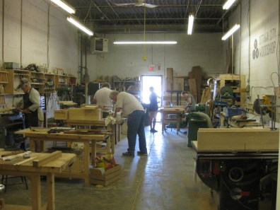 Ottawa City Woodshop's workshop