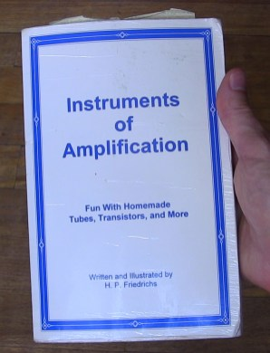 My well worn copy of Instruments of Amplifications
