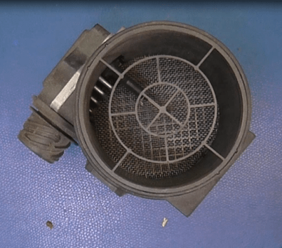 More refined sensor uses heated wire