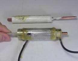 Barium titanate/epoxy capacitor