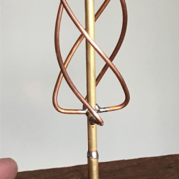A custom antenna.