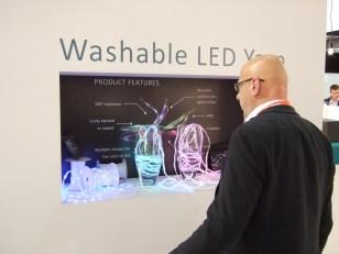 Washable LED Yarn