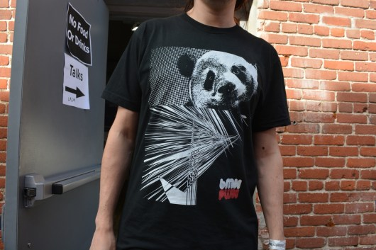 Alek designed this shirt himself