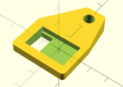 The mount for an ESP-01 module