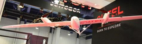 The Autel Kestrel. Speed: 70km/h, Payload: 2.5kg, Flight time: 2 hours
