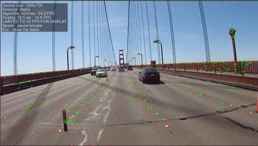A self-driving car, rolling over the Golden Gate