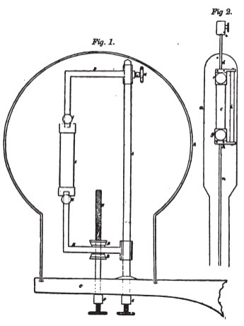Platinum and carbon lamps from Starr's British patent 10,919