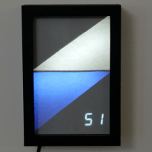 Triangle-Styled Weather Display