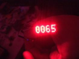 Tiny, tiny LED Matrix