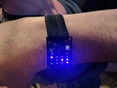 Binary wristwatch