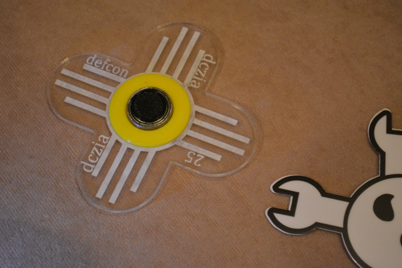 Fidget spinners are popular as giveaways this year