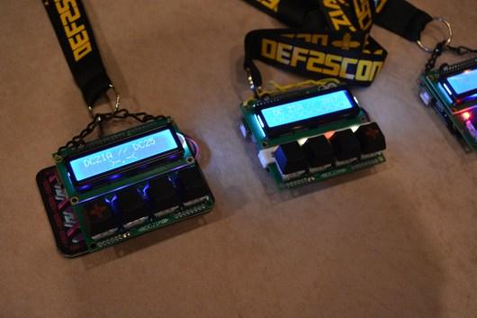 Cherry MX caps on this year's badge