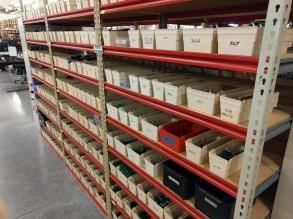 Shelves fo test jigs