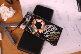 [Alex Williams], winner of the 2017 Hackaday Prize, added inductive charging to his Supercon badge