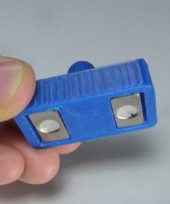 Magnetic holder bottom view