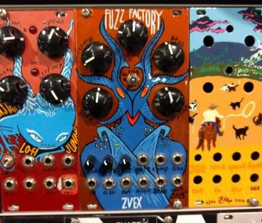 Handpainted Eurorack modules from Zvex