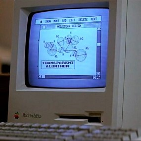 """Transparent Aluminum? That's the ticket, lad!"""