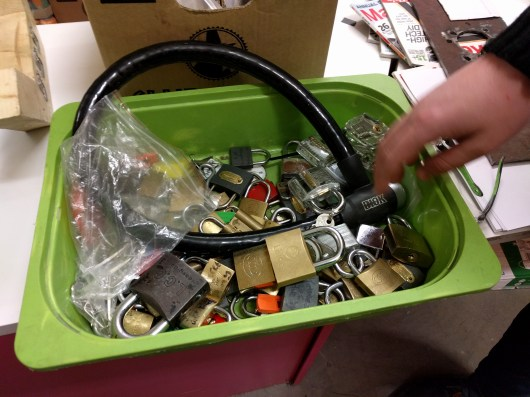 Lots of locks