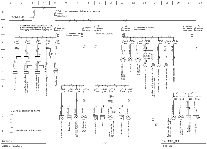 qelectrotech an open source wiring diagram tool  hackaday
