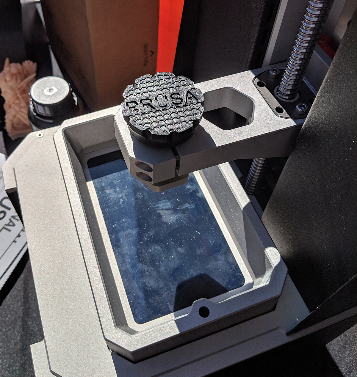 Prusa Introduces A Resin Printer At Maker Faire NY | Hackaday