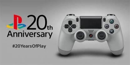 PlayStation DualShock 4 20th Anniversary Promotion Still (2014)